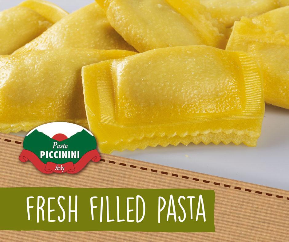 Fresh filled pasta